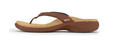 SOLE CASUAL heren slippers Bark