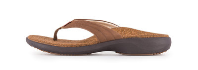 Sole dames slipper Monterey Bruin