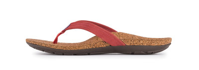 Sole dames slipper Malibu Rouge