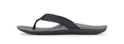 SOLE heren slippers Balboa Zwart / Grijs